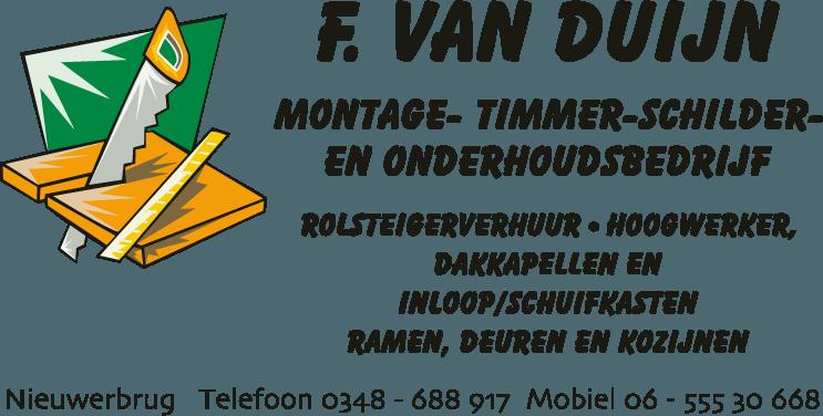 F. van Duijn